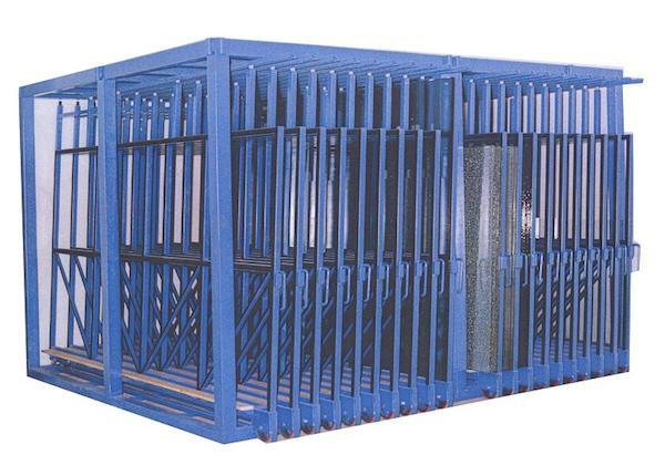 Superior Closed Top Glass Racks Case U0026 Sheet CLO