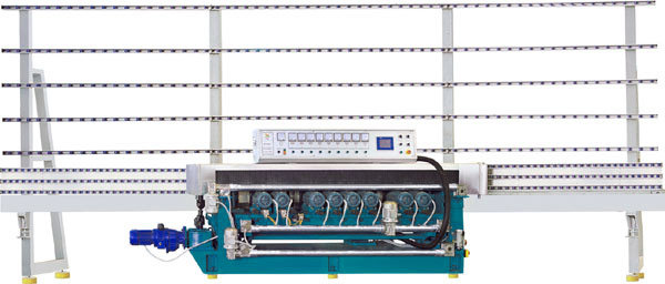 11 Spindle, Glass Beveling Machine, with PLC