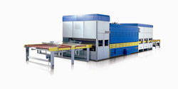 Double Direction Flat / Bent Tempering Furnace