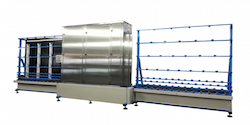 Vertical Glass Washer 2500 Production