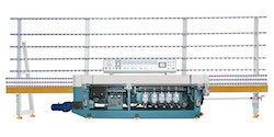 9 Spindle Polishing/Miter machine with PLC