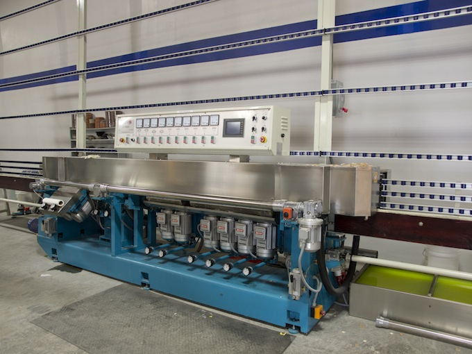 12 Spindle Polishing Miter Machine With Plc