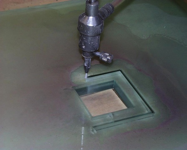 water jet glass cutting machine