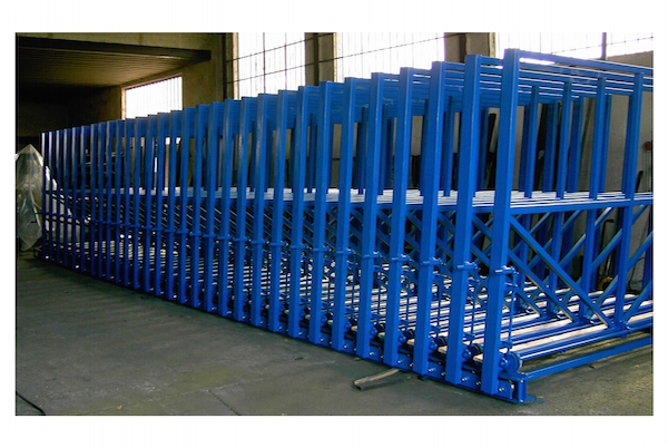 Automatic Open Top Glass Racks Sheets