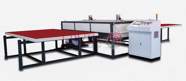 EVA Glass Laminatng machine (2 layer)