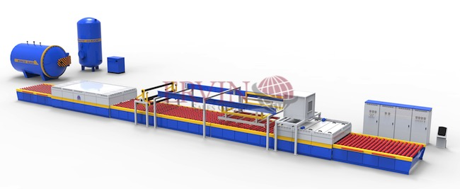Automatic Flat Glass Laminating Line