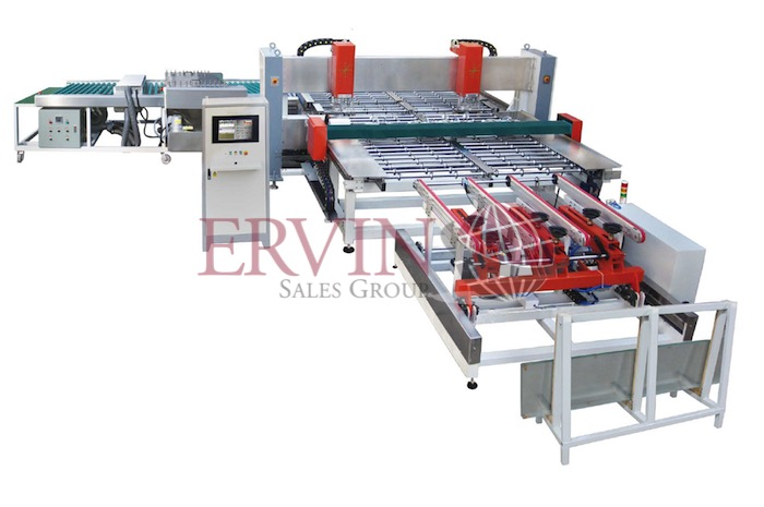 CNC Automatic Glass Drilling Machine Line