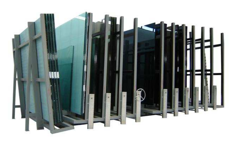Concertina Glass Racks