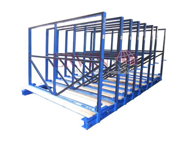 Manual Open Top Glass Racks (Cases)