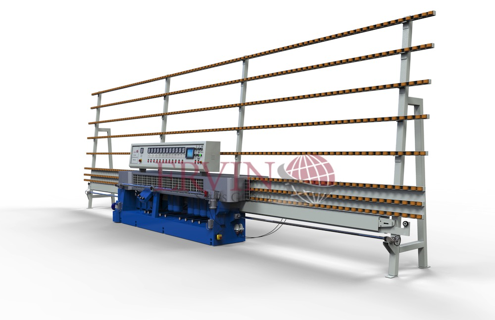 12 Spindle Glass Edging Machine