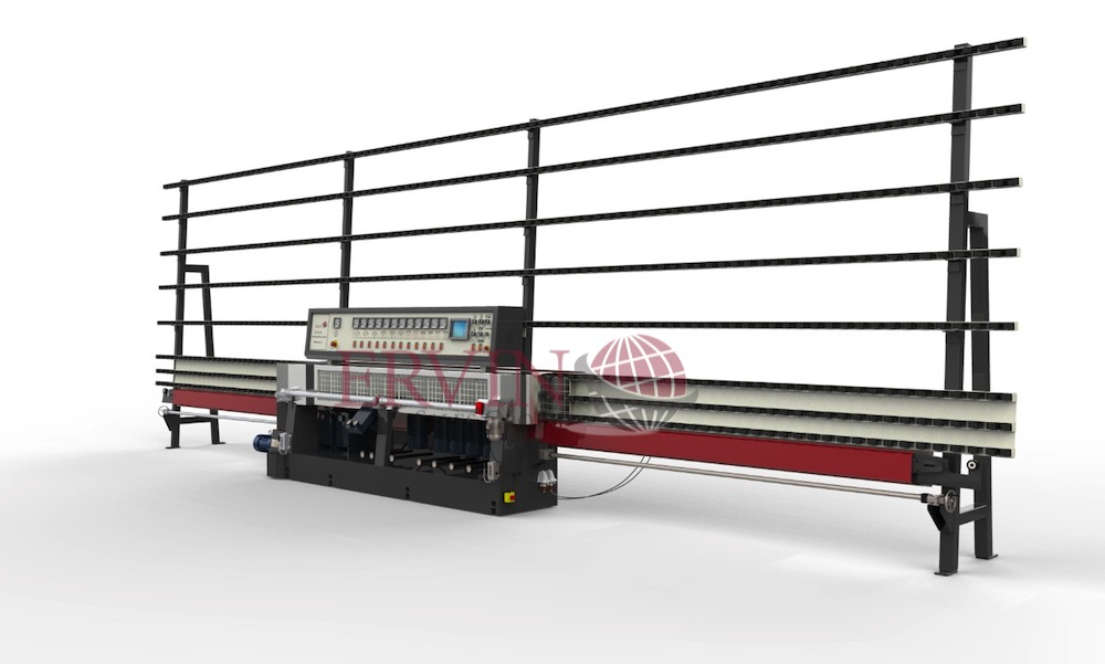 10 Spindle Glass Edging Machine