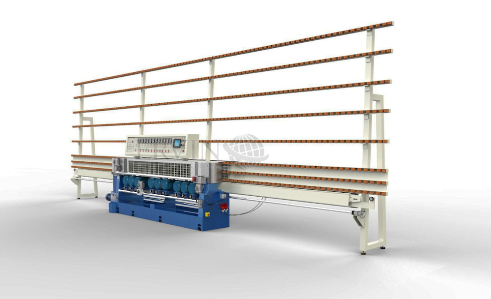 11 Spindle Glass Beveling Machine