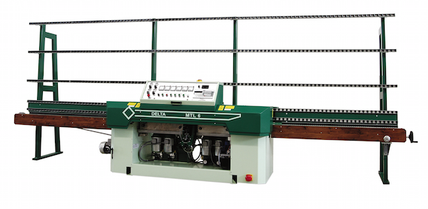 6 Spindle Glass Edging Machine Delta (Italian)