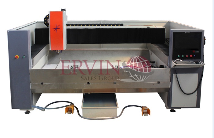 Horizontal CNC Glass Shape Edging Machine