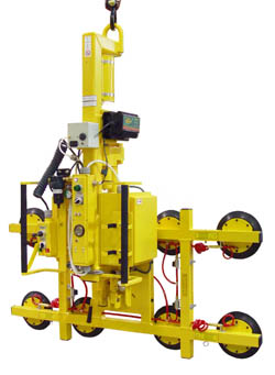 Manual Rotator/Power Tilter Vacuum Lifter
