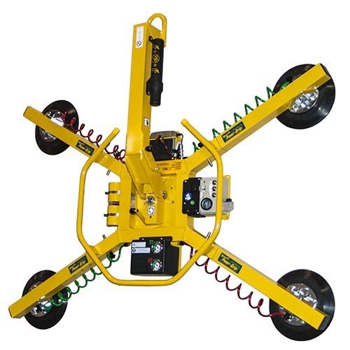 Manual Rotator and Tilter Vacuum Lifter (below the hook)