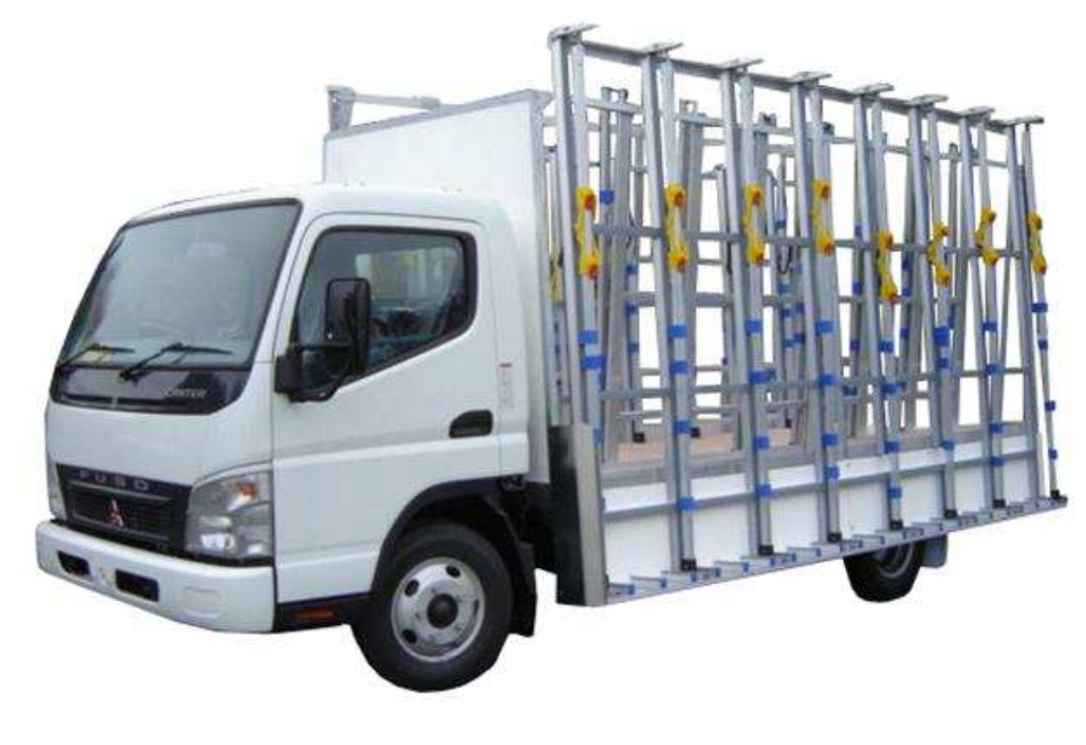 Open Route Glass Truck Racks