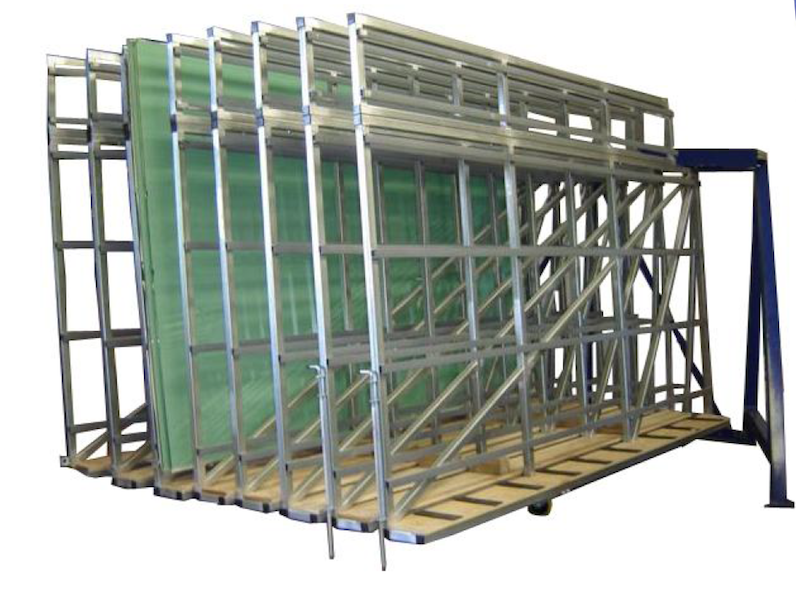 Swing Glass Racks