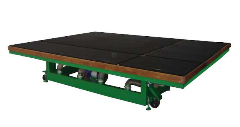 Tilting Glass Cutting Table TGRC
