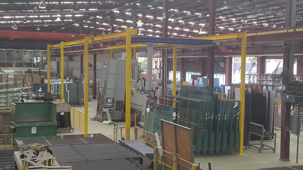 Kbk Overhead Glass Crane
