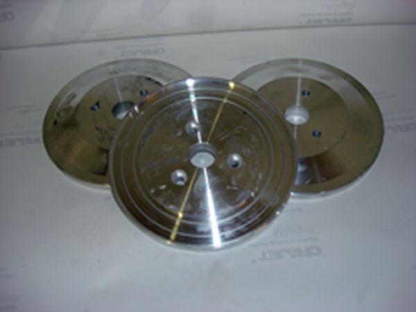 Aluminum Backing Plates (Beveler Italian)