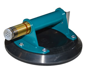 "8"" Flat Vacuum Cup with Metal Handle (Audio Alarm)"