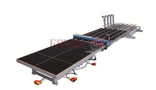 CNC Automatic Load/Unload Glass Cutting Line