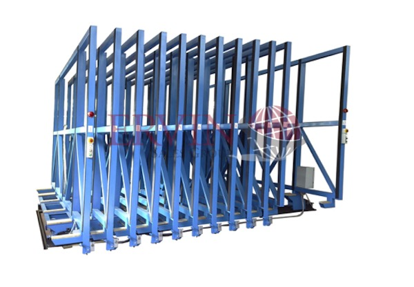 Automatic Open Top Glass Racks (Sheets)