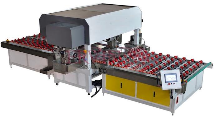 CNC Horizontal Automatic Glass Seaming Machine