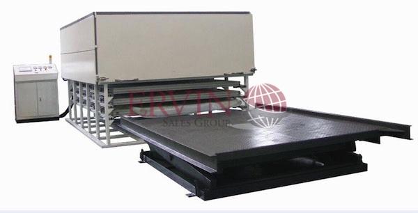 PVB Glass Laminating machine (5 Layer)
