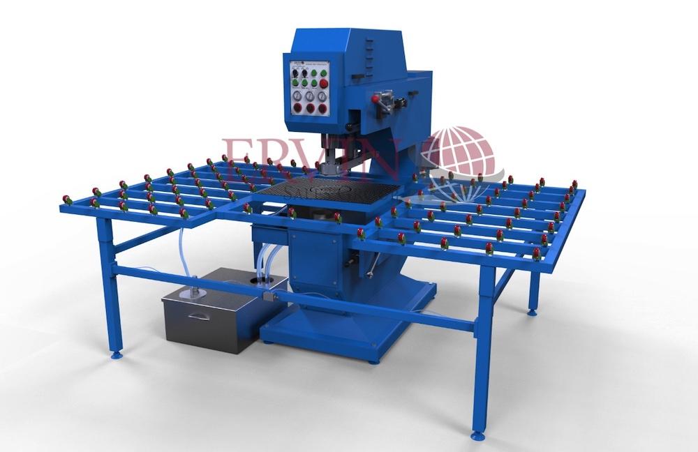 Automatic Horizontal Glass Drilling Machine