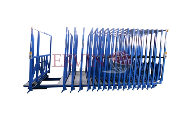 Automatic Open Top Glass Racks (Cases)