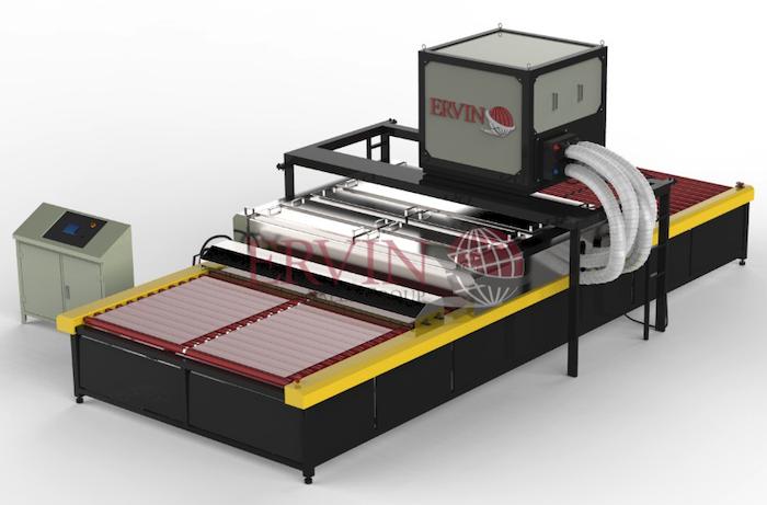 Horizontal Glass Washing Machine Production (Large)