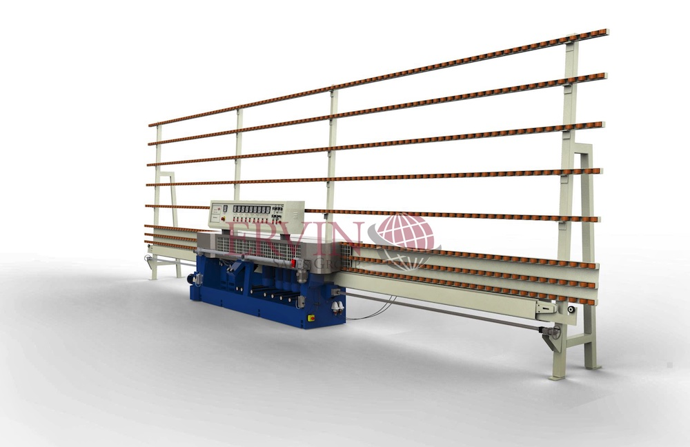 6 Spindle Glass Pencil Edging Machine