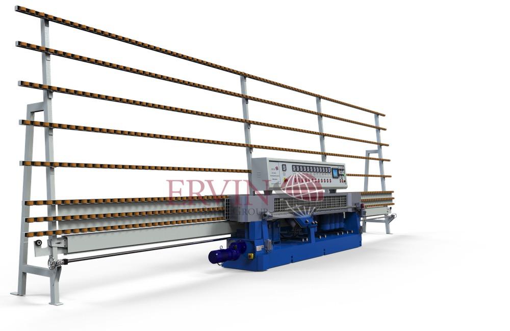 12 spindle Glass Edging/Miter machine
