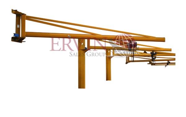 Wall Mounted Glass Crane