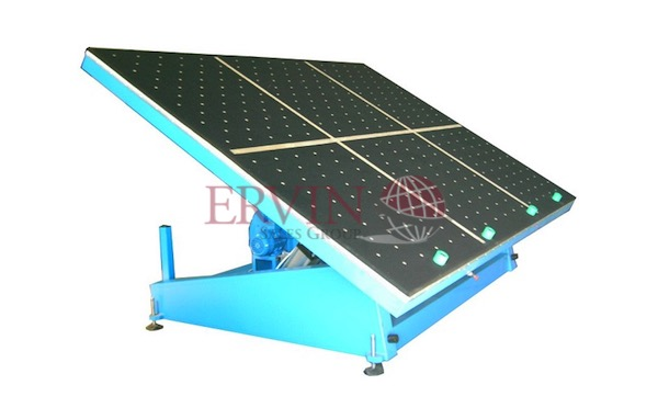 Tilting Glass Cutting Table